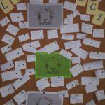 La bacheca con i messaggi degli studenti