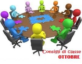 Convocazione Consigli di classe – ottobre